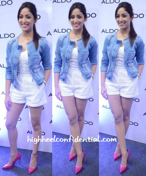 Yami Gautam In Guess And Promod At Aldo's Fall:Winter 2015 Collection Launch In Delhi-1