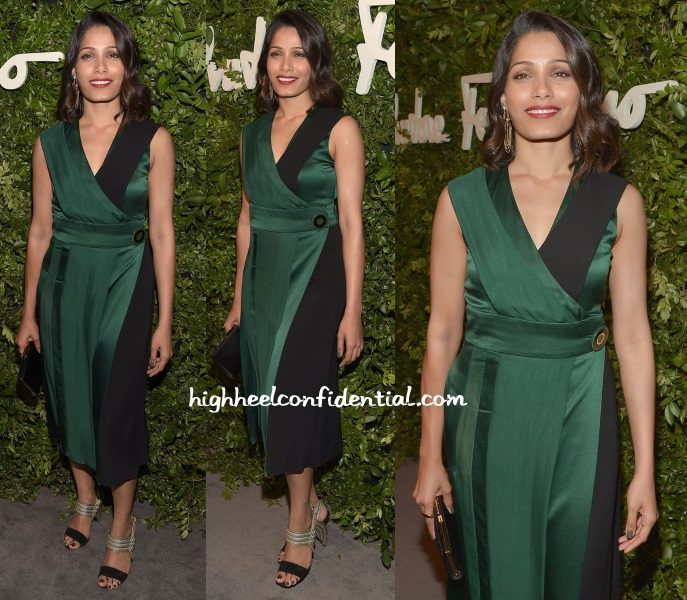 freida-pinto-ferragamo-100-years-celebrations