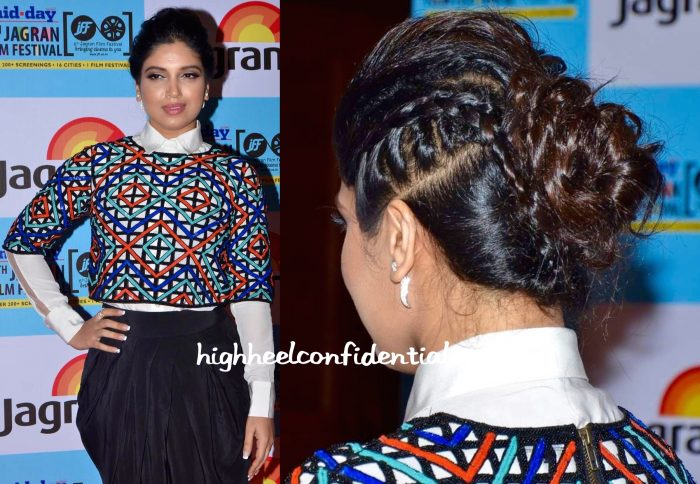 Bhumi Pednekar In Urvashi Joneja At Jagran Film Festival 2015-2