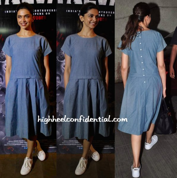 Deepika Padukone In Shift By Nimish Shah At Talvar Screening
