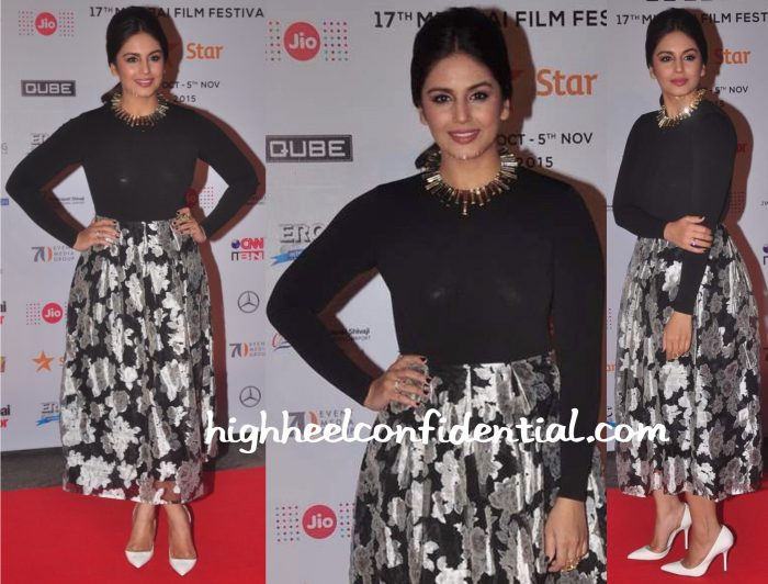 Huma Qureshi In Sapphire At MAMI 2015 Film Festival Opening Night-2