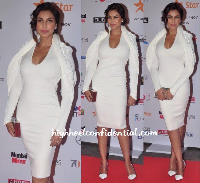 Lisa Ray In Gaurav Gupta At MAMI 2015 Mumbai Film Festival Opening Night-1