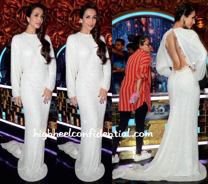 Malaika Arora Khan In Elio Abou Fayssal Couture On Jhalak Dikhhla Jaa Sets-1