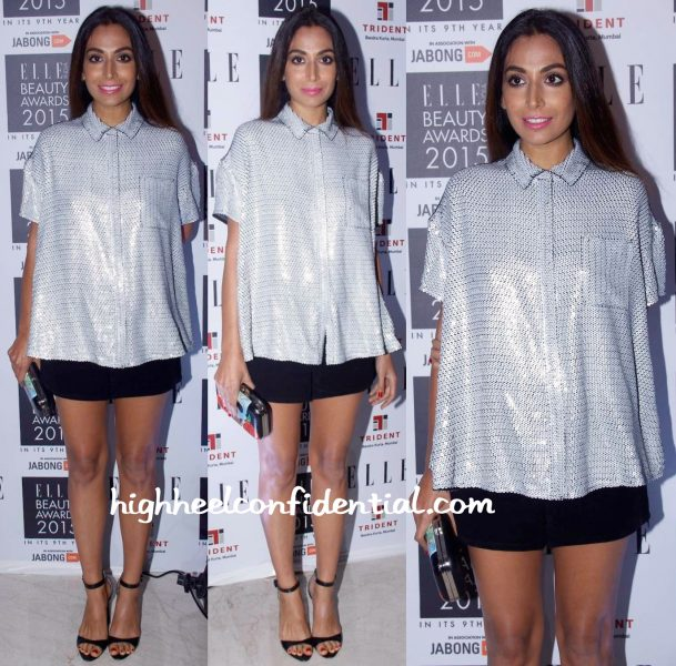 Monica Dogra At Elle Beauty Awards 2015