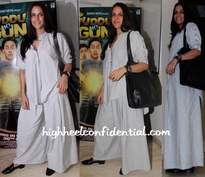 Neha Dhupia At Guddu Ki Gun Screening
