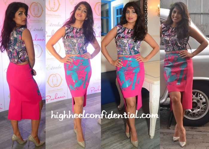 Pallavi Sharda In Vizyon At Mrinalini Chandra For Pookaari Launch