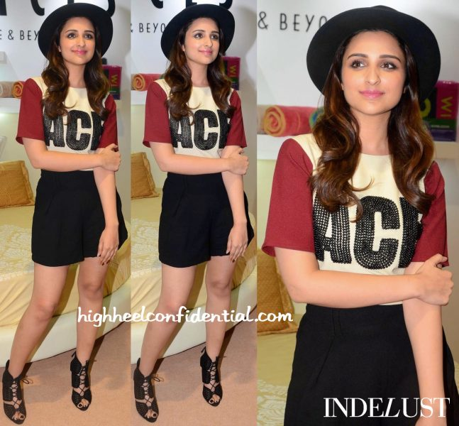 Parineeti Chopra In Kanika Goyal At Amazon India Fashion Week-1