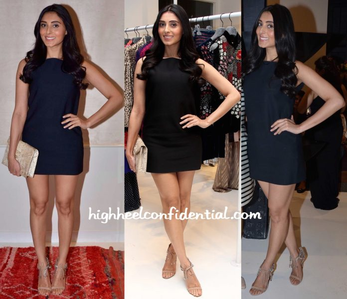 Pernia Qureshi In Celine At Le Mill Store Launch