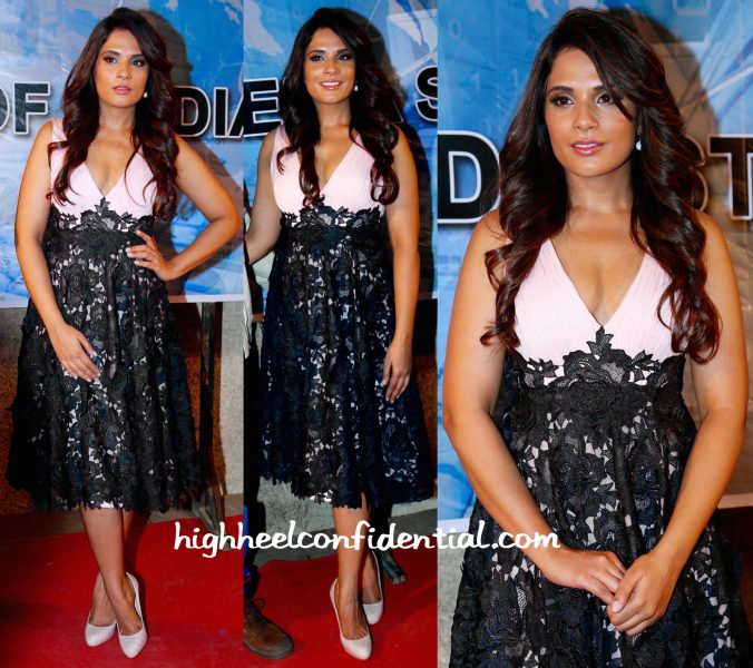 Richa Chadha In Meher And Ridhima At Main Aur Charles Promotions-2