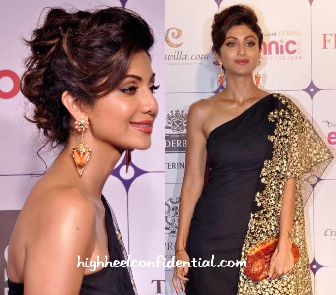 Shilpa Shetty at Ethnic Designer Of The Year 2015-1