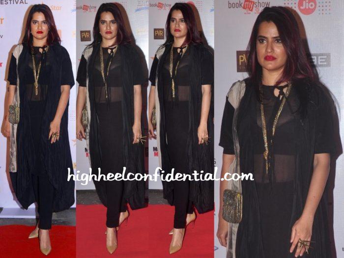 Sona Mohapatra In Kallol Datta At MAMI 2015 Film Festival Opening Night