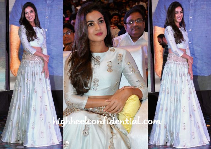 Sonal Chauhan At Sher Music Launch-2