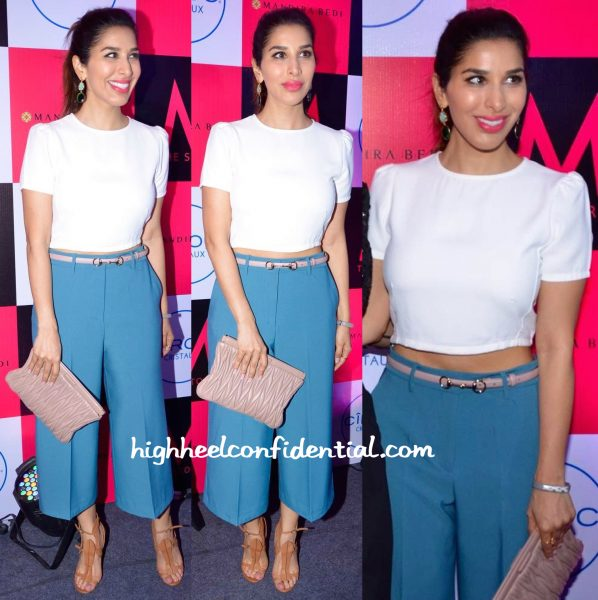 Sophie Choudry In Madison And Zara At M Store Launch