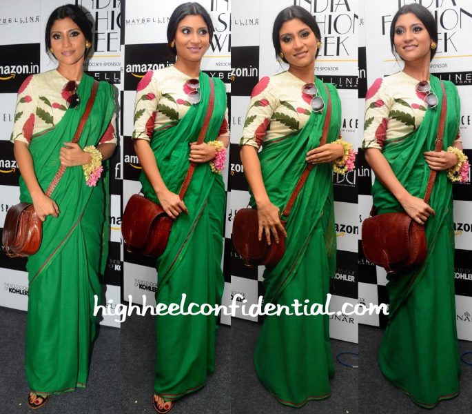 konkona sen sharma In Raw Mango At Sanjay Garg Show At AMazon India Fashion Week-1
