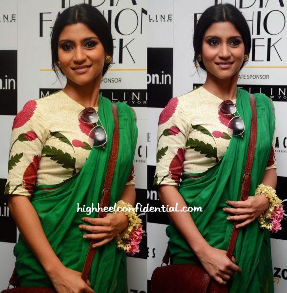 konkona sen sharma In Raw Mango At Sanjay Garg Show At AMazon India Fashion Week-2