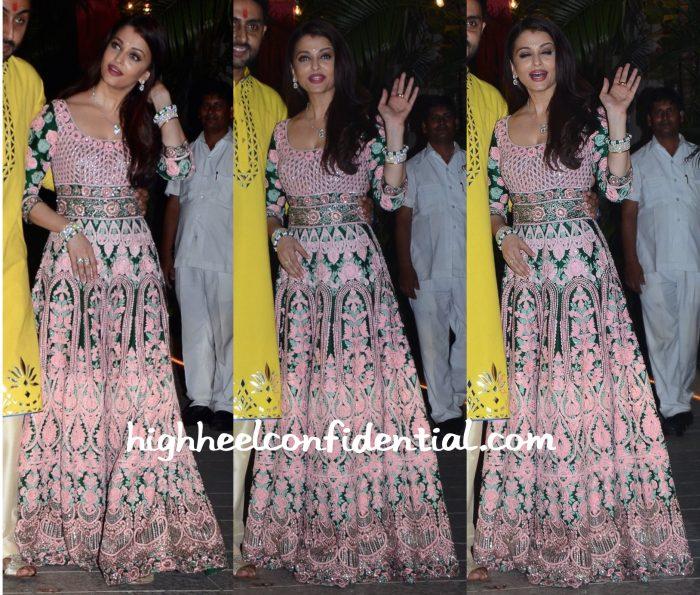 Aishwarya Rai Bachchan Wears Abu Jani Sandeep Khosla To Her Diwali Party-1