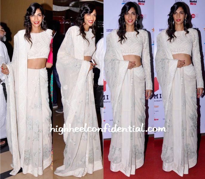 Anushka Manchanda Wears Varun Bahl To Angry Indian Goddesses Screening At MAMI 2015 Film Festival-1