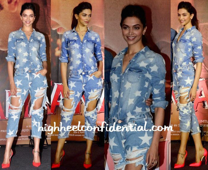 Deepika Padukone In One Teaspoon And HM At Tamasha Promotions-1