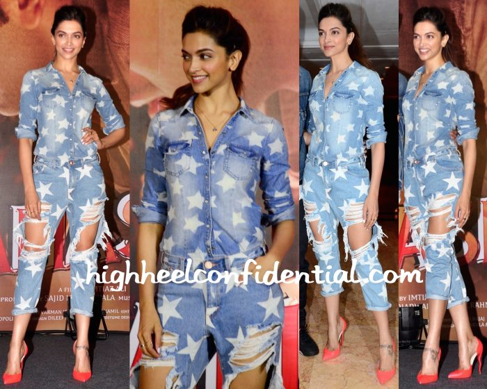 Deepika Padukone In One Teaspoon And HM At Tamasha Promotions-2