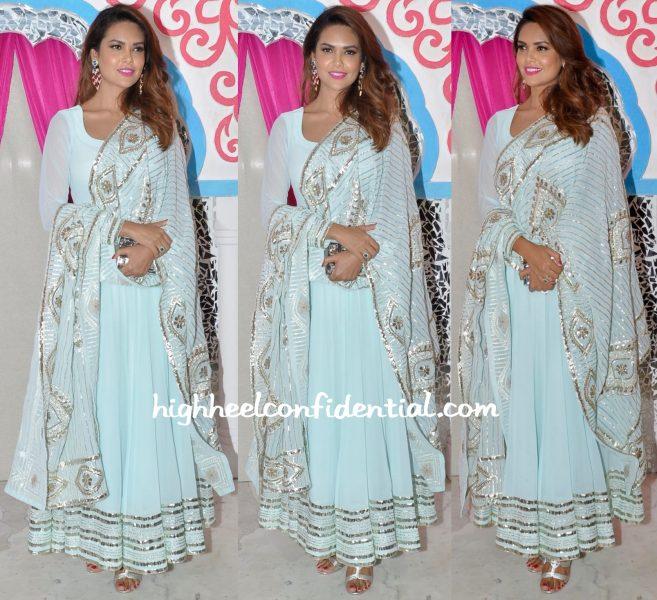 Esha Gupta At Sachin Joshi Diwali Party-1