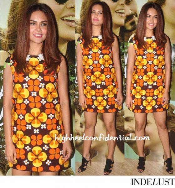 Esha Gupta Wears Hemant Nandita To 'Main Rahoon Ya Na Rahoon' Launch-1