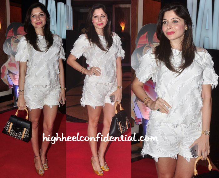 Kanika Kapoor At Shah Rukh Khan Birthday Event