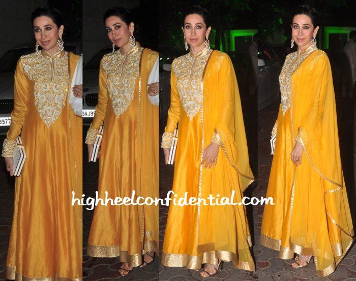 Karisma Kapoor At Shilpa Shetty's Diwali Party