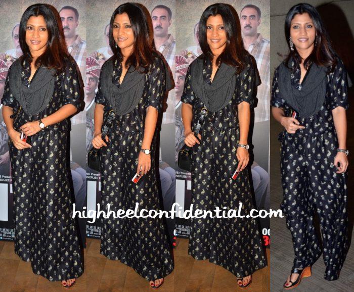 Konkona Sen Sharma At Titli Screening