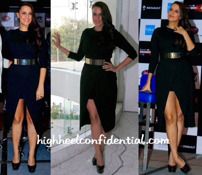 Neha Dhupia In Zara At An Event For Roadies-1