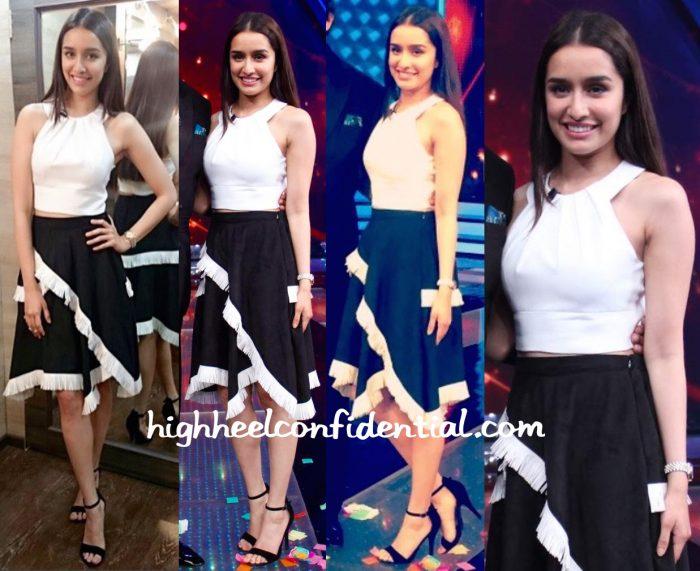 Shraddha Kapoor Wears Madison To Aaj Ki Raat Hai Zindagi Sets