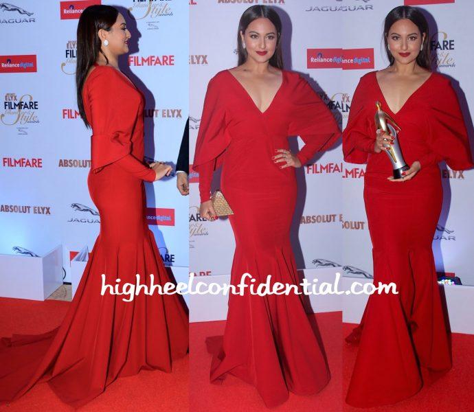 Sonakshi Sinha At Filmfare Glamour & Style Awards 2015-monisha jaising-2