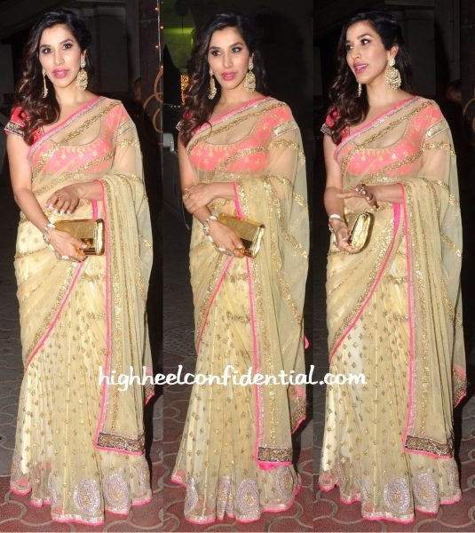 Sophie Choudry At Shilpa Shetty's Diwali Party