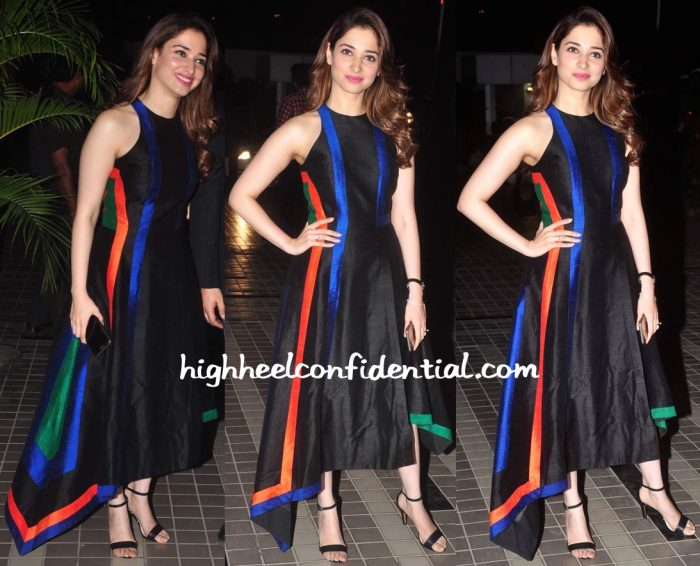 Tamannaah Bhatia Wears Urvashi Joneja To Sajid Khan's Birthday Party