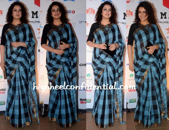 Tisca Chopra At MAMI 2015 Mumbai Film Festival Closing Ceremony
