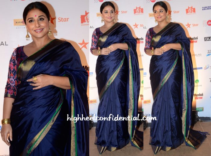 Vidya Balan At MAMI 2015 Mumbai Film Festival Closing Ceremony