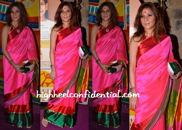 haseena jethmalani-pink sari-ngo