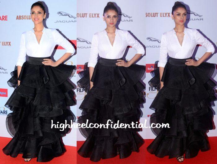 Aditi Rao Hydari At Filmfare Glamour & Style Awards 2015-abu jani sandeep khosla-1