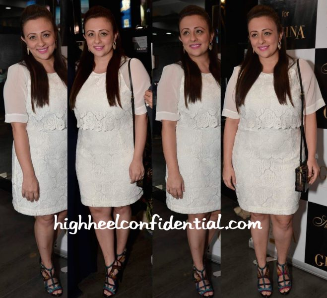 Avantika Malik In Reiss At Shaheen Abbas For Gehna Jewellery Collection Unveiling