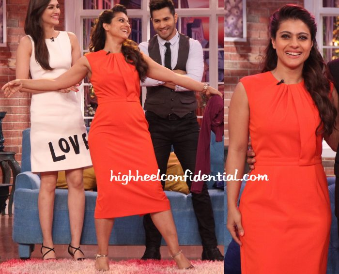 Kajol Wears ASOS To Comedy Nights With Kapil Sets For Dilwale Promotions