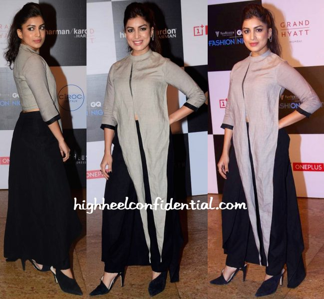 Pallavi Sharda In Antar-Agni At GQ Fashion Nights 2015-1