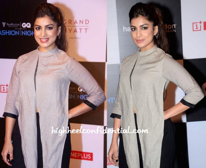 Pallavi Sharda In Antar-Agni At GQ Fashion Nights 2015-2