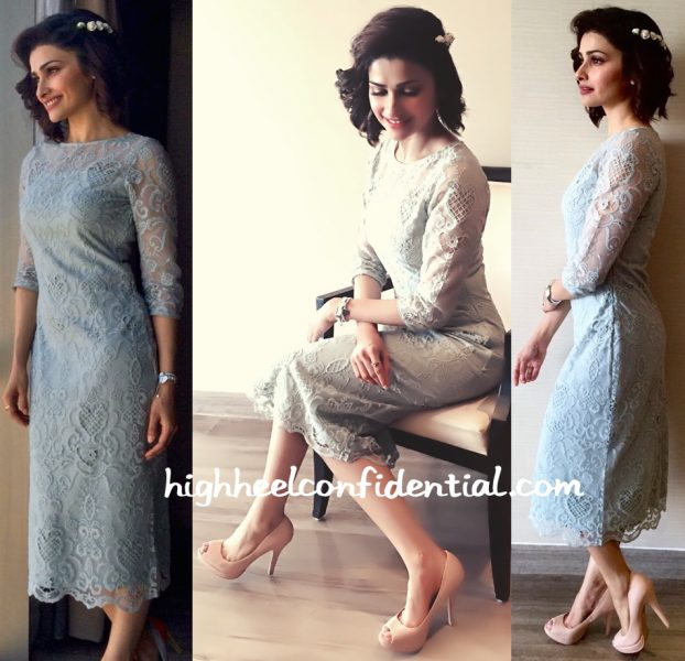 Prachi Desai Wears a Marquee Limited Edition Dress To An Event In Ahmedabad