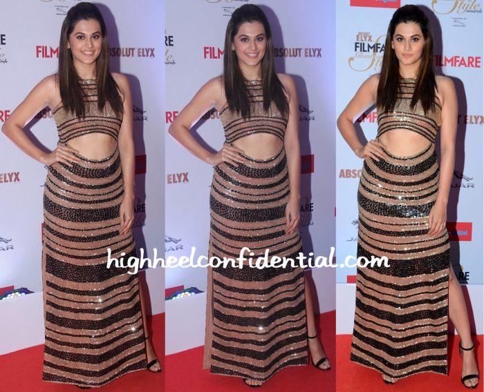Taapsee Pannu In Malini Ramani At Filmfare Glamour & Style Awards 2015