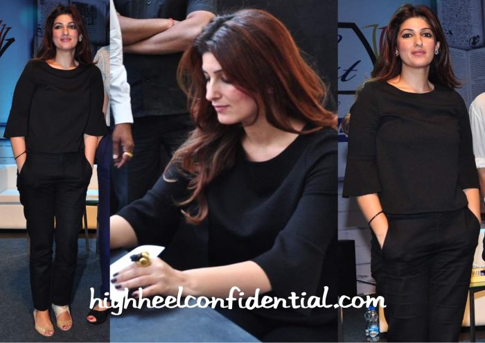Twinkle Khanna At Times LitFest 2015-2