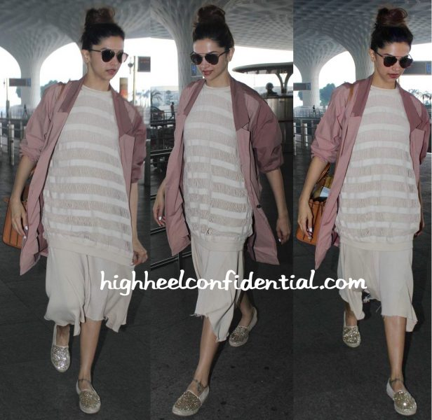 deepika padukone spotted at the airport 2015-1