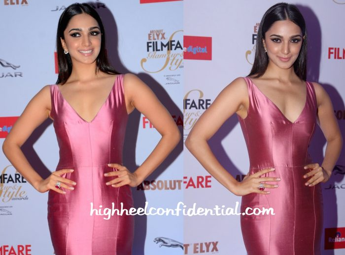 filmfare glamour and style awards 2015-kiara advani-gauri and nainika-2