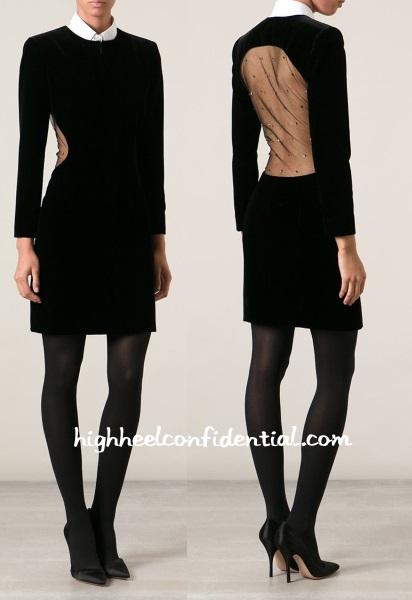 saint-laurent-velvet-dress