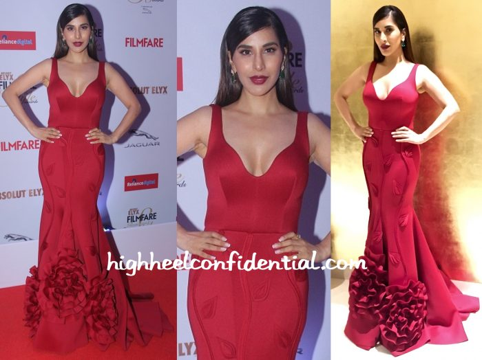 sophie choudry in gauri and nainika At Filmfare Glamour & Style Awards 2015