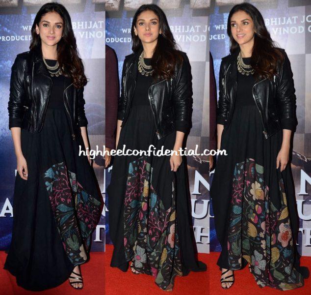 Aditi Rao Hydari In Divya Sheth At Wazir Screening-2