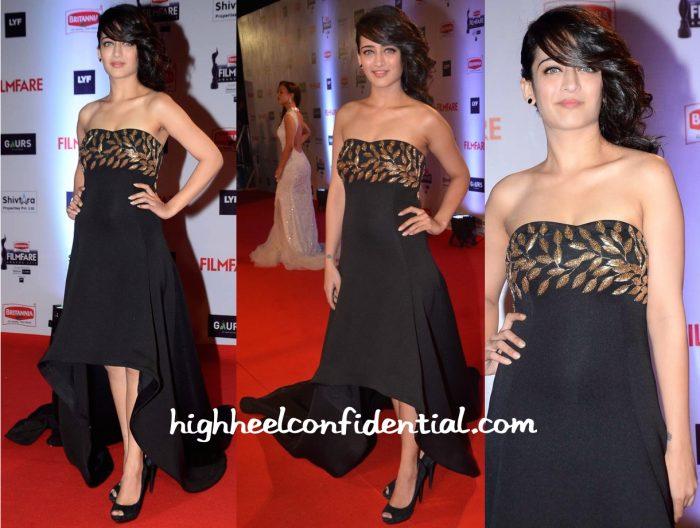 Akshara Haasan In Mayyur Girotra At Filmfare Awards 2016